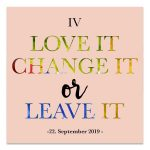 """Herzfrauen Tages-Event Nr. 6 """"Love it, change it or leave it"""" 22. September 2019"""